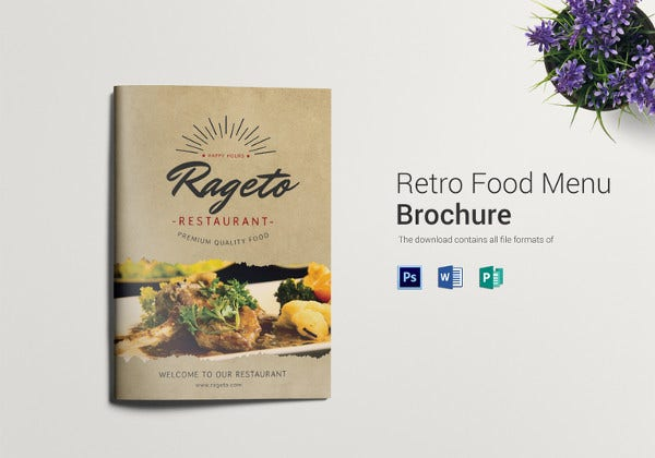 retro-food-menu-bifold