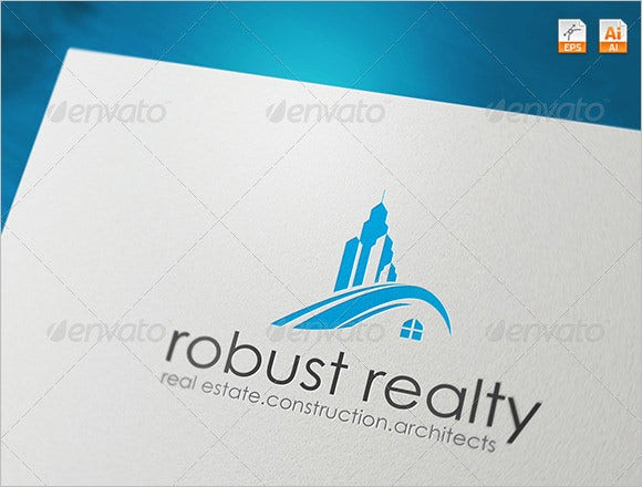 robust reality construction company logo