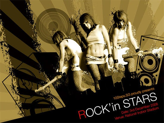 Rockin-Stars-Poster-Making-Tutorials
