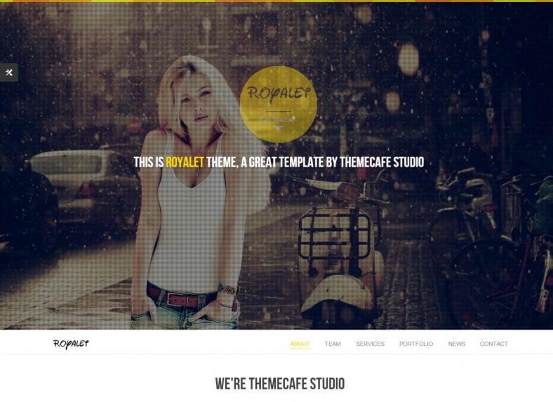 royalet creative artist portfolio joomla theme 48 788x572