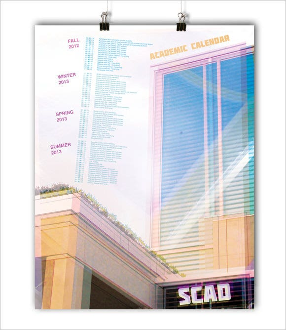 scad academic poster design