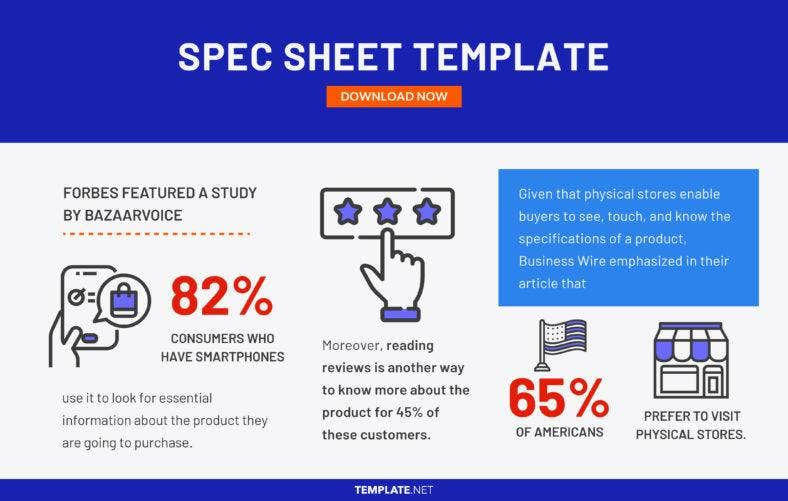 spec sheet template 788x501