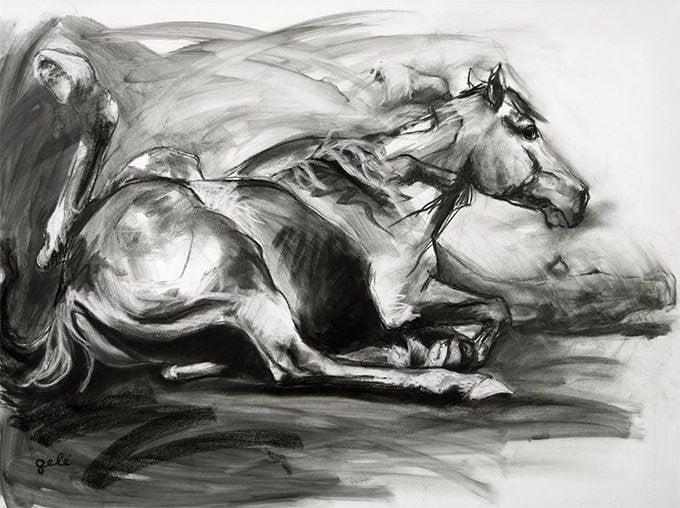 saatchi art artist benedicte gele