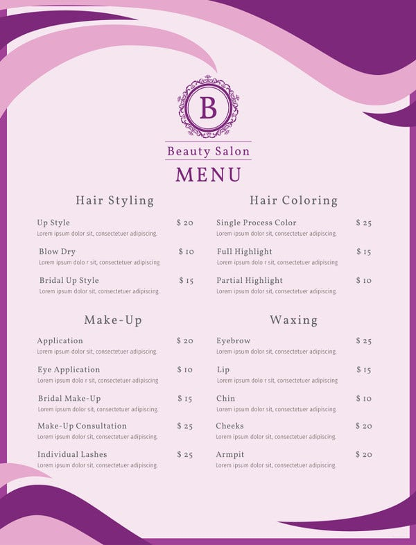 salon-menu-photoshop-template