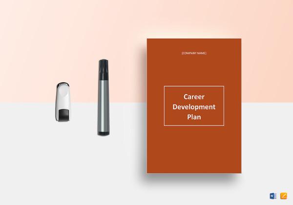 sample career development plan template