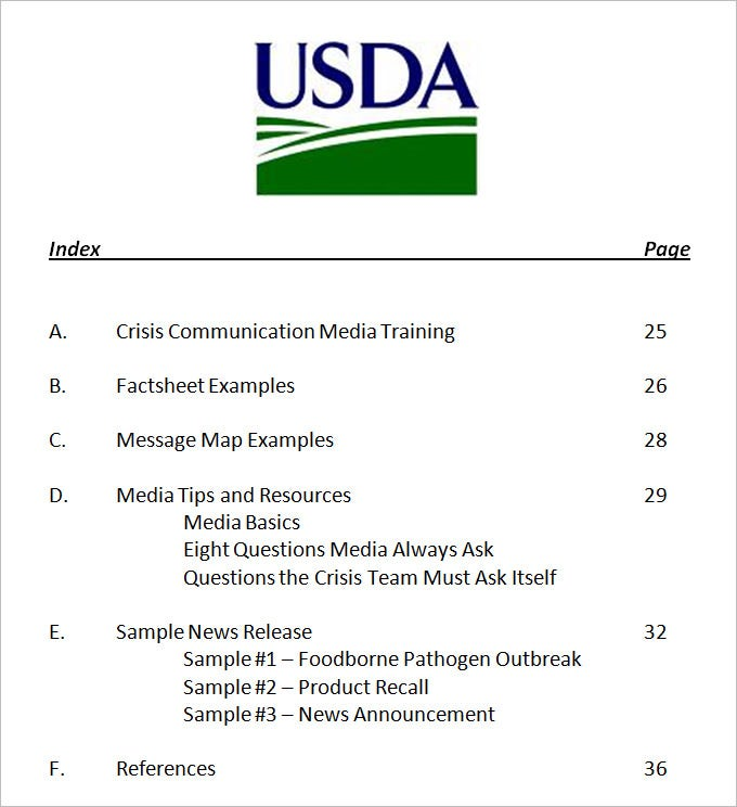 Crisis Communication Plan Template - 3 Free Word Documents Download