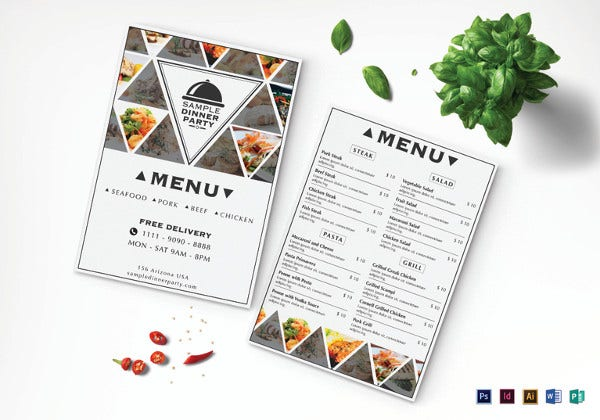 sample-dinner-menu-design-template