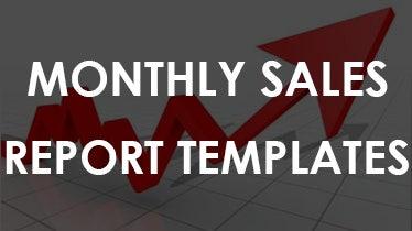 monthly sales report template word .