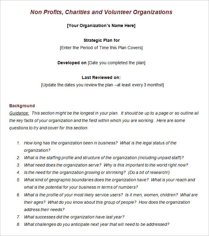 Non profit business plan template 21 free word pdf documents non non profit organizations business plan sample the hypthesis business plan for non profit organization template saigontimesfo