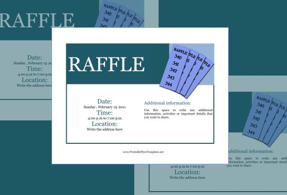 Raffle Flyer Template 24 Free Psd Eps Ai Indesign