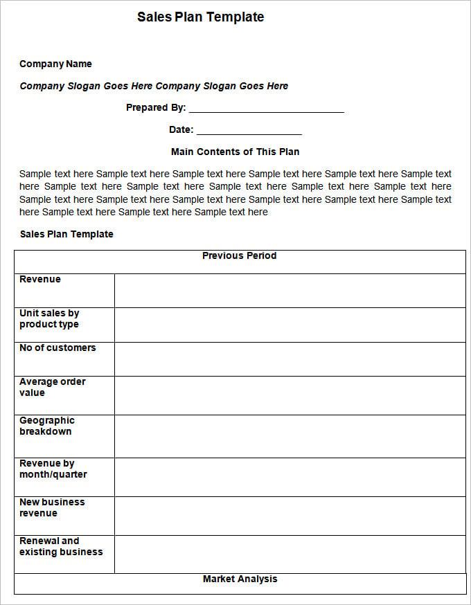Sales Action Plan Templates   Free Word Excel PDF Documents mQ9JnihV