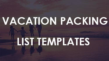 samplevacationpackinglisttemplateforfreedownload