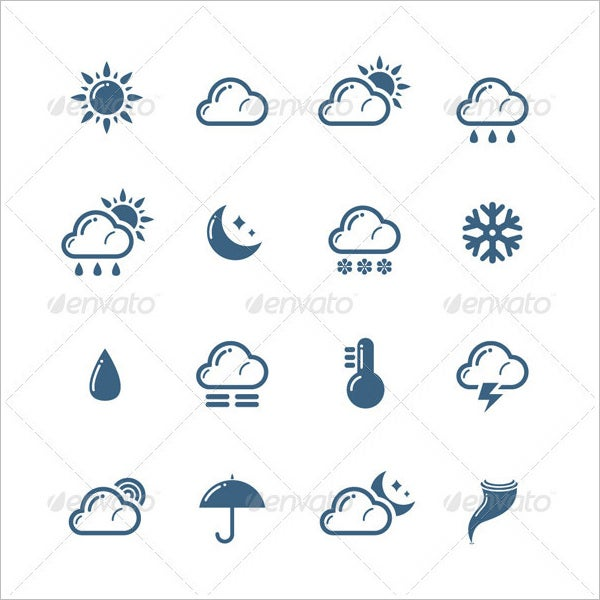 sample weather icons suite11