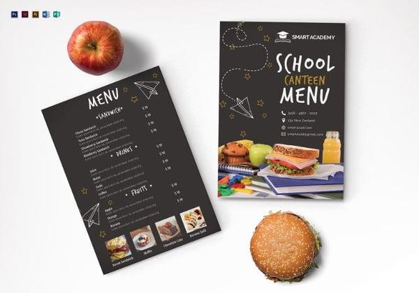 school-canteen-menu-illustrator-template