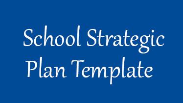 schoolstrategicplantemplate
