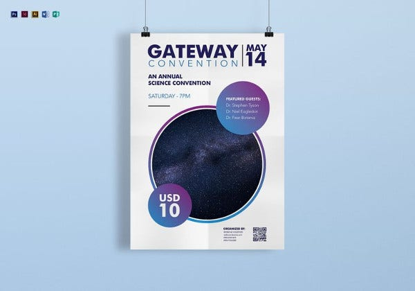19+ Conference Poster Design Templates - PSD, AI, Vector EPS