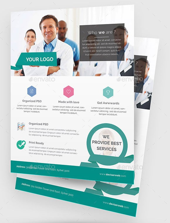 31 Medical Poster Templates Free Word PDF PSD EPS Indesign – Hospital Flyer Template