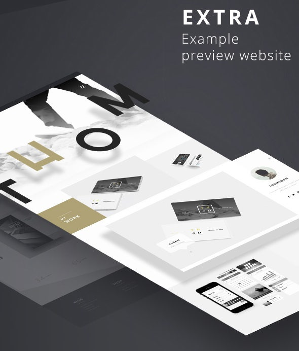 seamless ui psd template free download