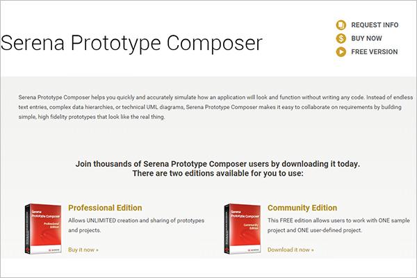 serena prototype composer