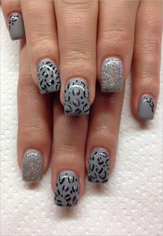 short gel nail design