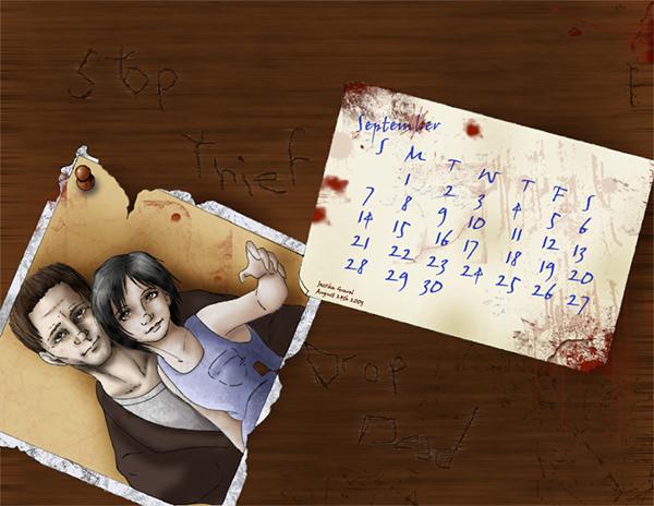 silent hill desk calendar template