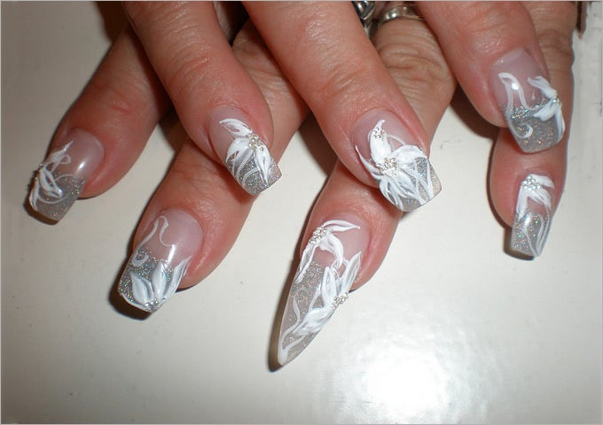 simple gel nail design free
