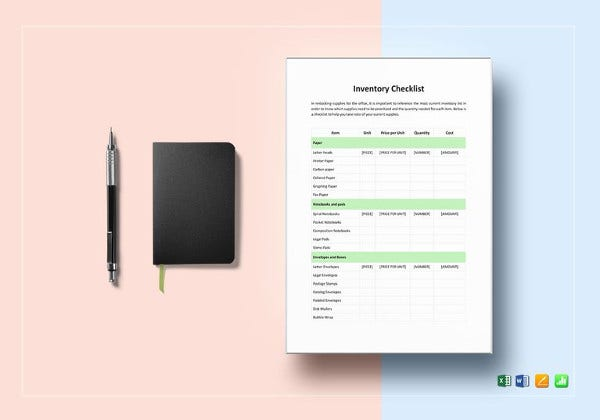 simple-inventory-checklist-template