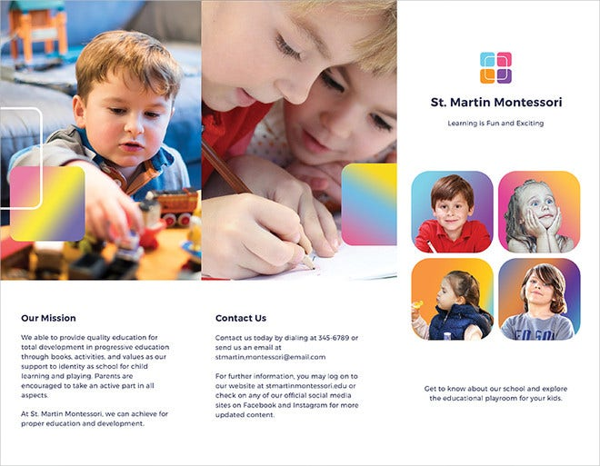 simple-kindergarten-brochure-illustrator-template