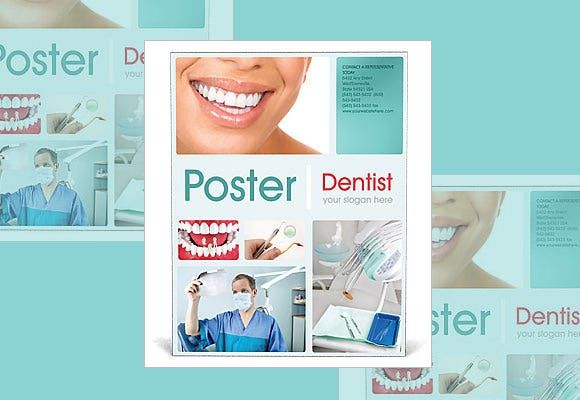 simple medical poster template