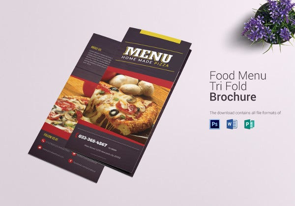 simple-pizza-menu-trifold-template