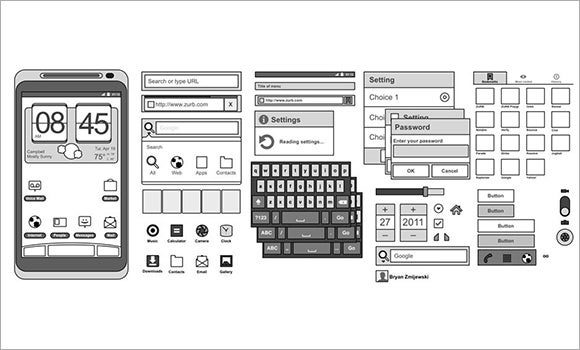 sketching androids ux design tools