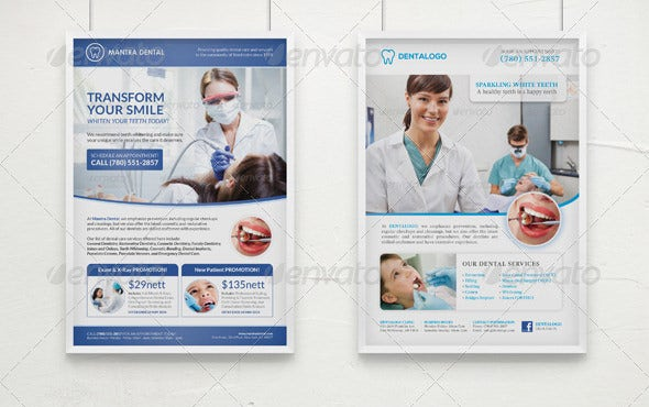 smile medical poster template