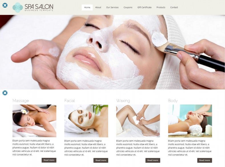spa salon wordpress theme 788x588