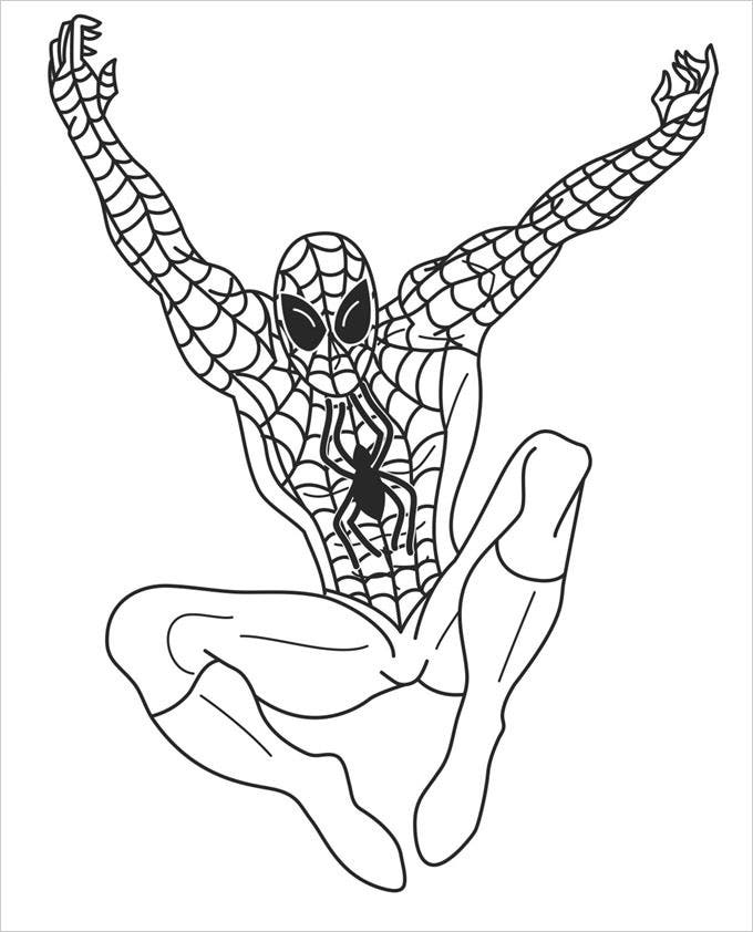 superhero coloring pages games free - photo#6