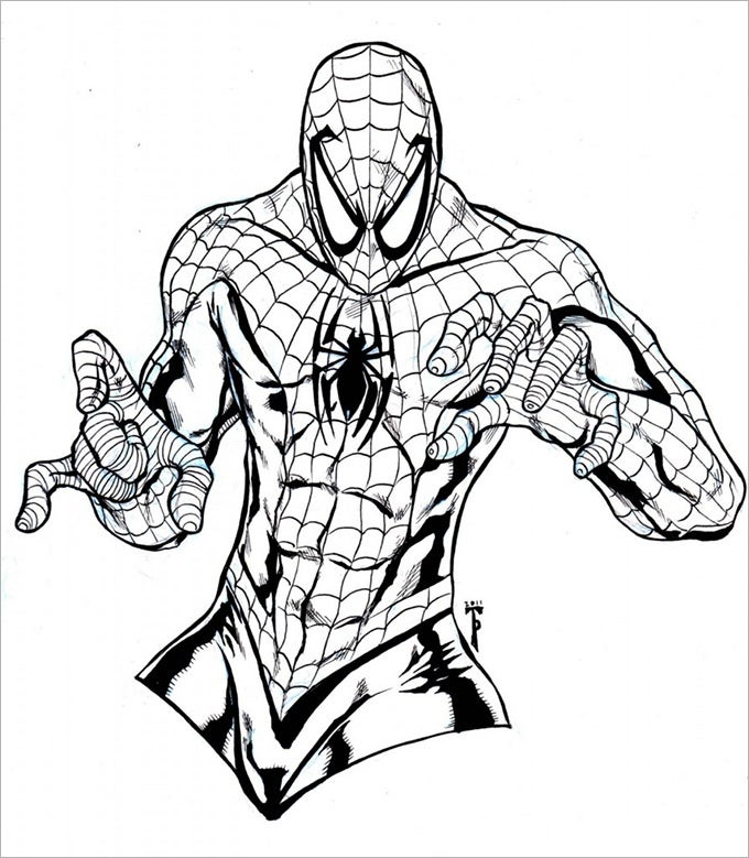30+ Spiderman Colouring Pages - Printable Colouring Pages | Free ...