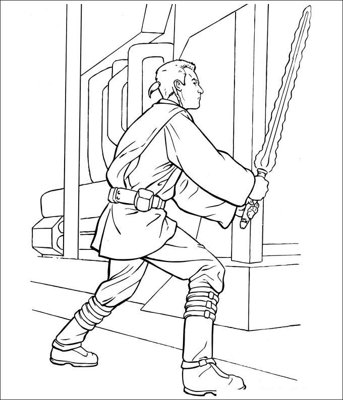star wars clone wars coloring page