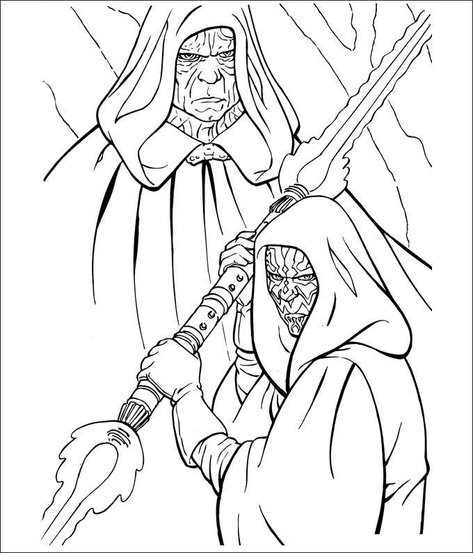25+ star wars coloring pages - free coloring pages