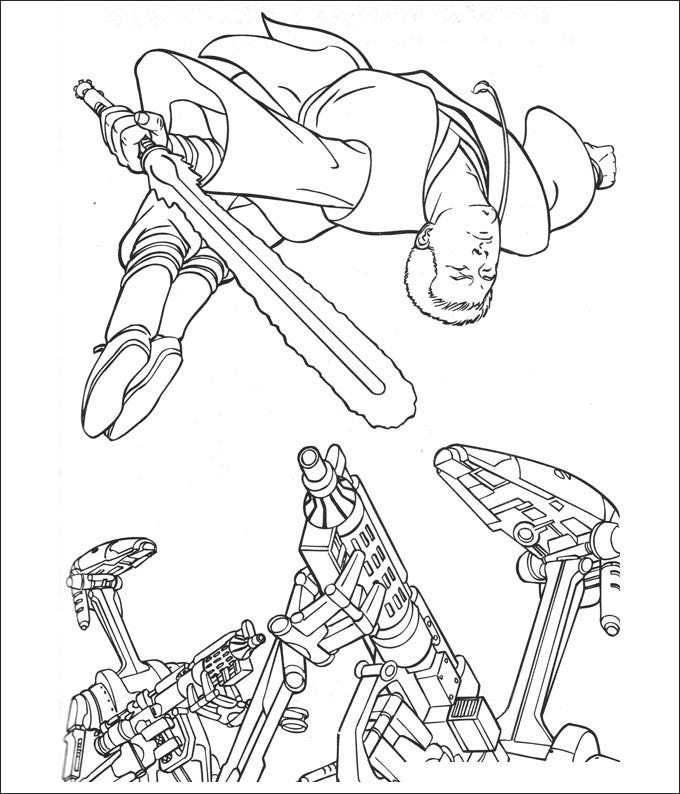 star wars coloring page to print 2