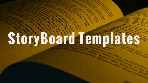 storyboard templates