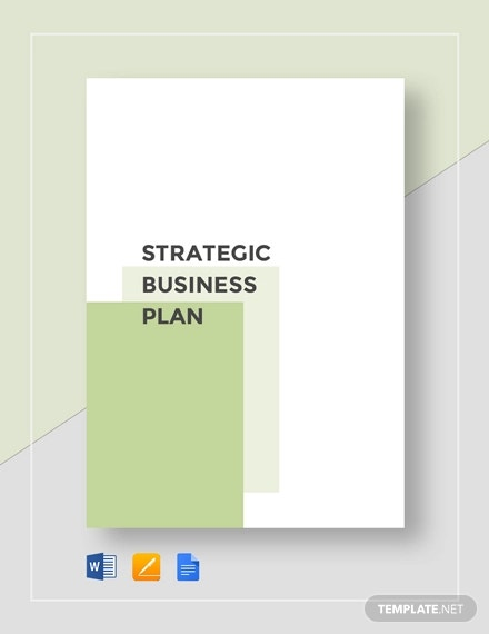 strategic business plan template1