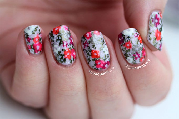 summer nail art design 2