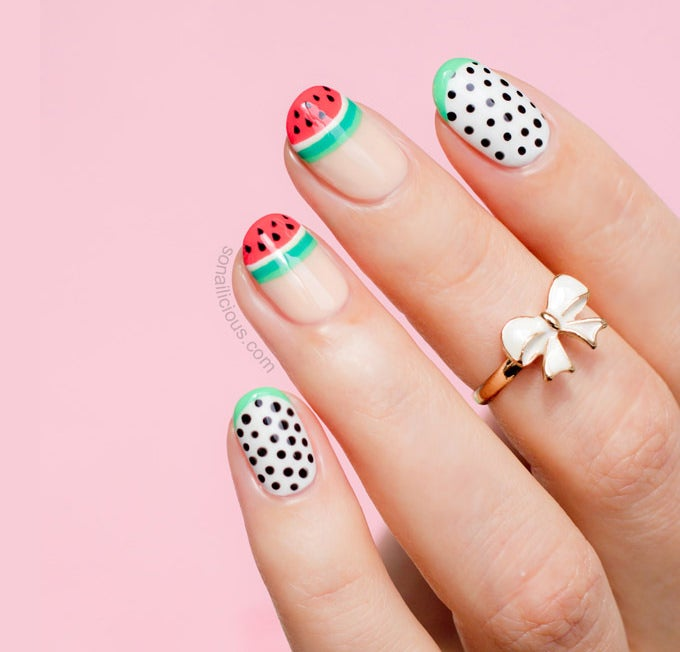 summer nail design idea