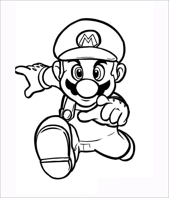 Mario Coloring Pages - Free Coloring Pages | Free ...