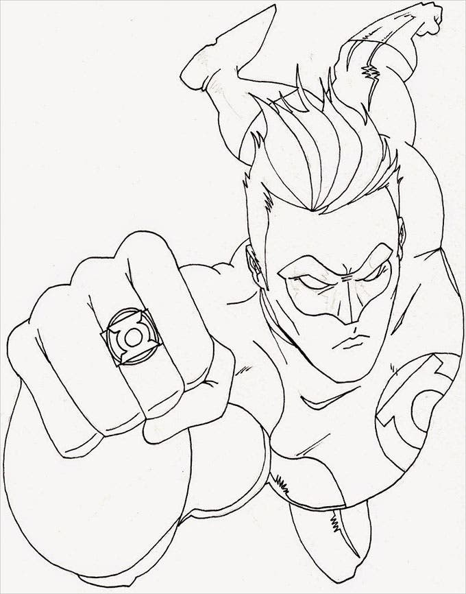 superhero coloring pages games free - photo#18