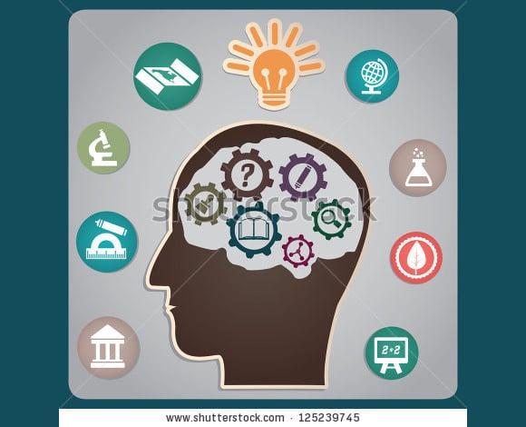 symbolic academic poster design