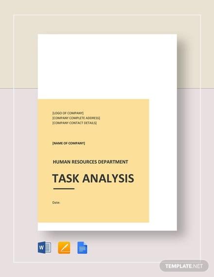 task analysis template1