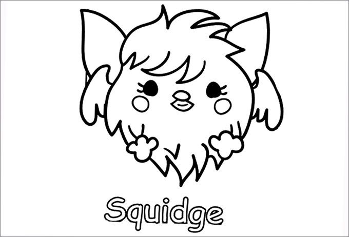 The Squidge Moshi Monster Page