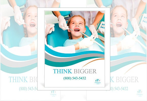 think bigger medical poster template