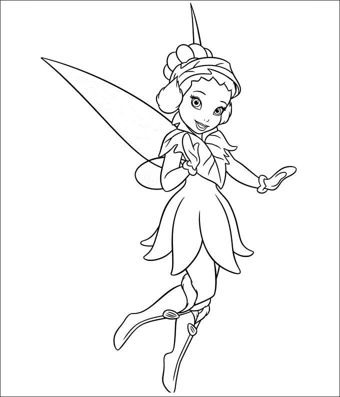 tinkerbell printable coloring pages - photo#33