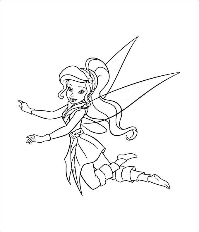 tinkerbell printable coloring pages - photo#24